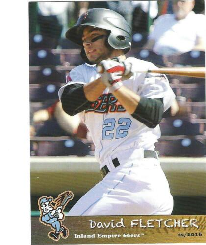 COMPLETE 2016 INLAND EMPIRE 66ERS TEAM SET MINORS HIGH A LOS ANGELES ANGELS