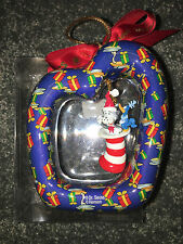 THE WUBBULOUS WORLD OF DR. SEUSS Cat In The Hat 1998 CHRISTMAS ORNAMENT Vintage