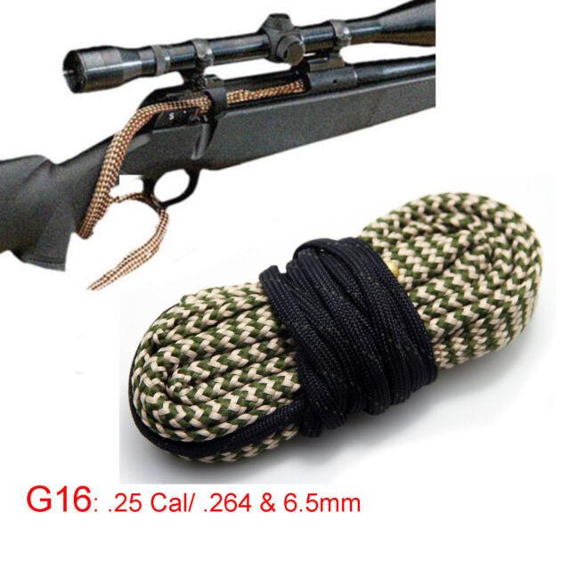 Xhunter Bore Brush .25 Cal .264 6.5mm Borebrush Cleaning Kit Rifle Cleaner Snake