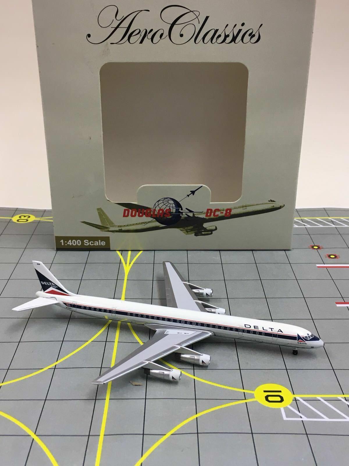 RARE Aeroklassics 1 400 Delta Air Lines Douglas DC -8 -61 N1300L