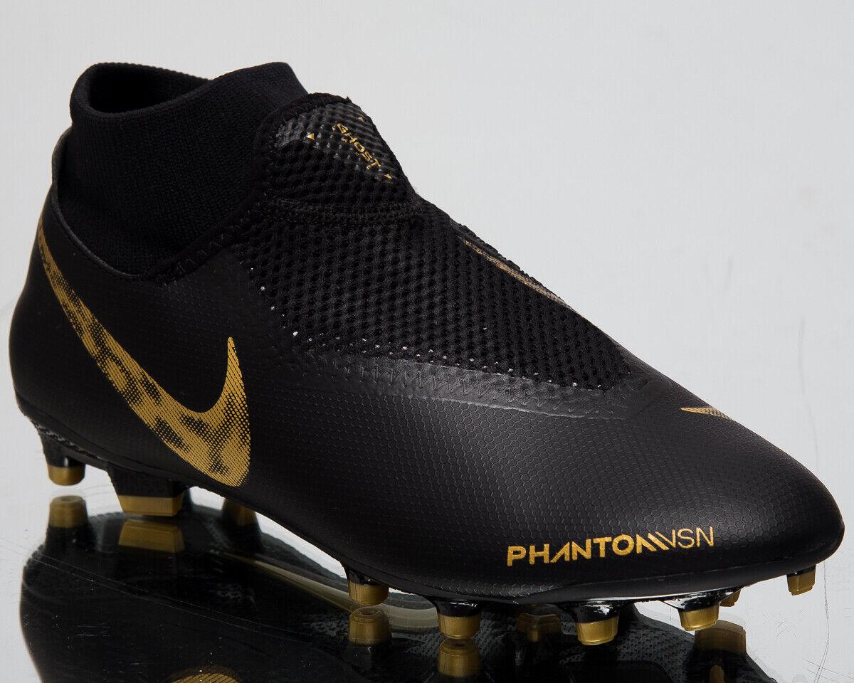 Nike Phantom Vsn Akademie Dynamische Passform Fg   MG Neu Schwarz Fußball Sonderangebot