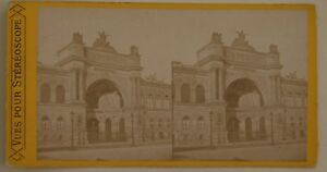 Palais-Da-L-Industria-Parigi-Francia-Foto-Stereo-L44-Vintage-Albumina-c1870