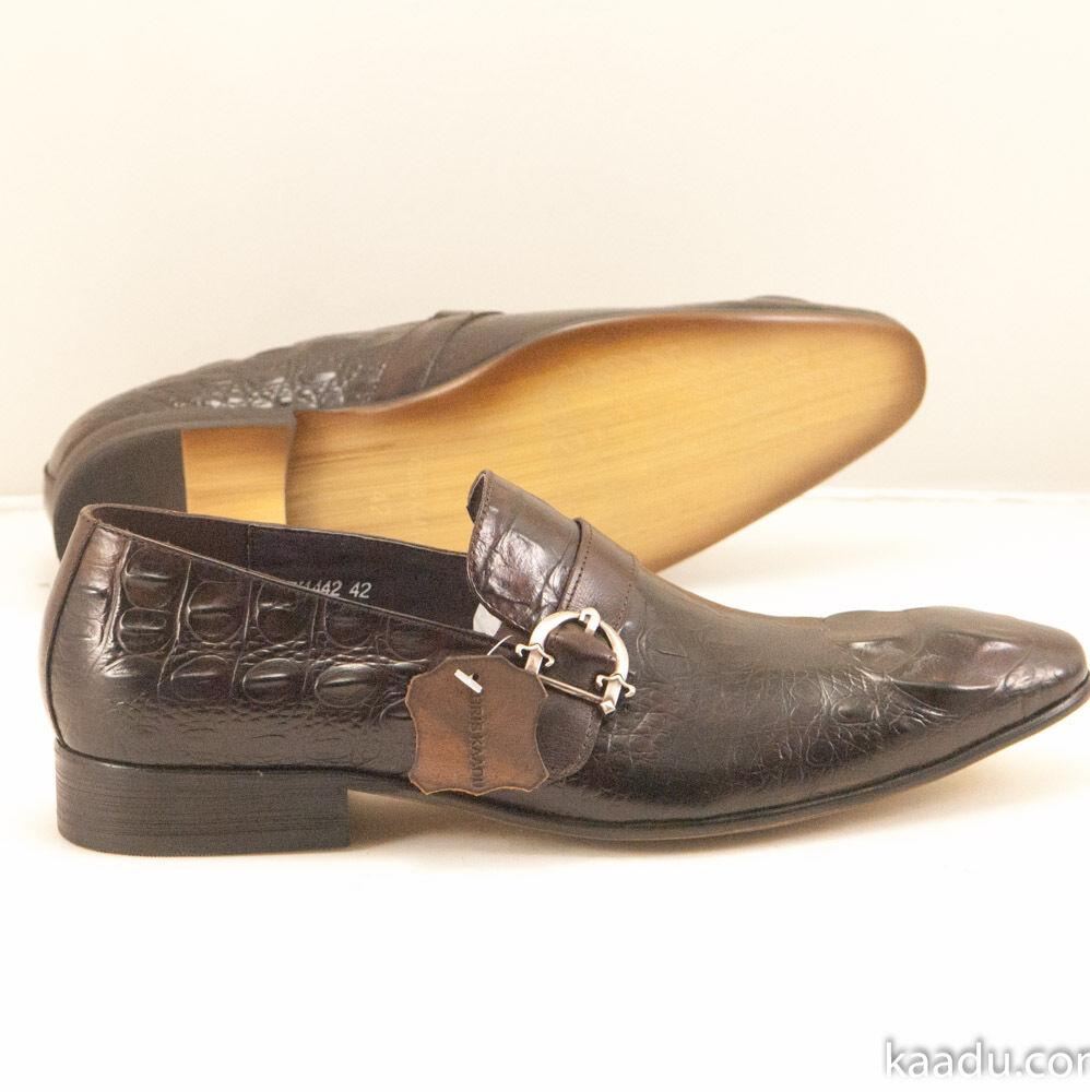 CK1442 Chris Kaadu Men Dress Comfort schuhe Loafer braun braun braun 4c77f2
