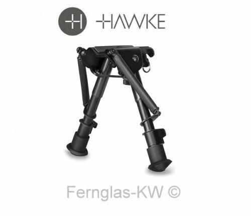 """Hawke 70001 fixed bípode dos pierna 6-9/"""" 15-23cm ajustables en altura stand piernas"""