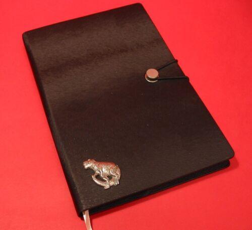 Dinosaur A5 Black Note Book T-Rex Journal History Dinosaur Christmas Gift