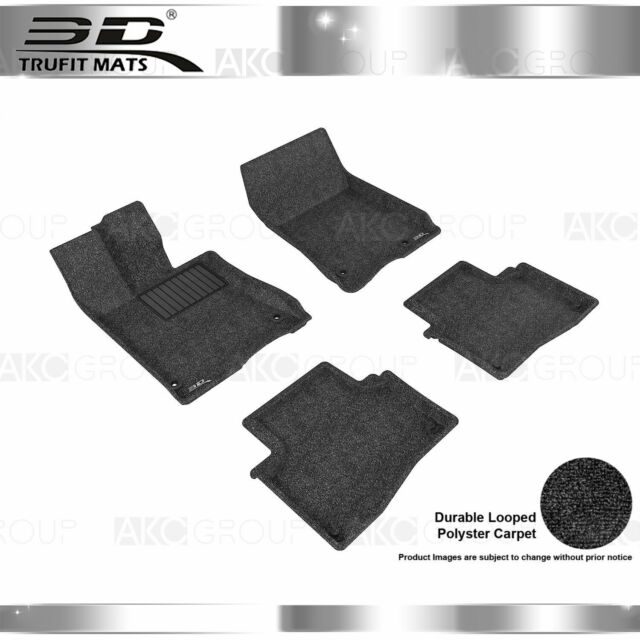 All Weather CLASSIC Floor Mat Fits 14-20 Acura RLX Black