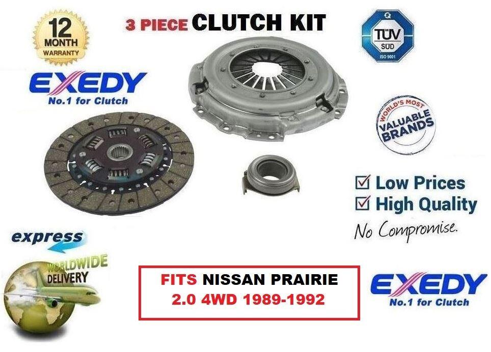 Für Nissan Prairie M11 2.0 4wd Ca20s 1989-1992 Exedy Oe-Qualität Kupplungssatz