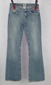 Ladies-Department-of-Peace-Juniors-Flare-Blue-Jeans-Size-7