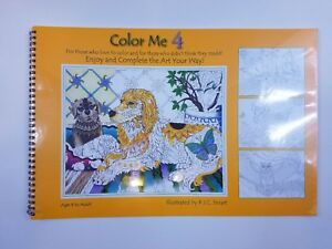 Detalles Acerca De Libro Para Colorear Para Adultos Color Me 4 P J C Inteligente Mostrar Titulo Original
