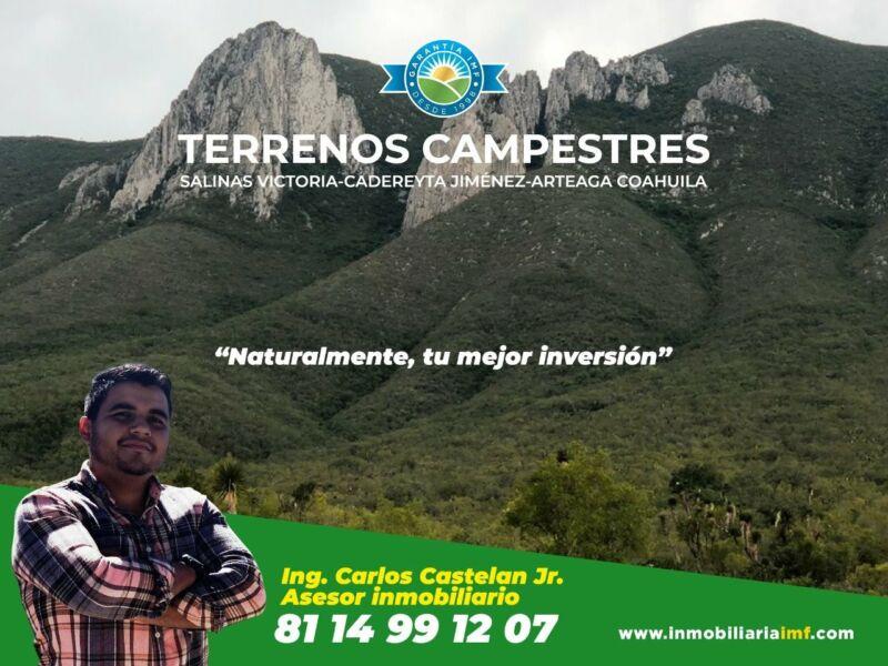 Venta de Terrenos Campestres a 40 mi de Monterrey