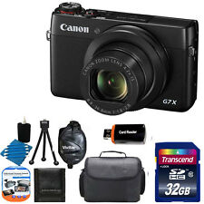 Canon PowerShot G7 X 20.2MP HD Video Recording Digital Camera  + 32GB Top Kit