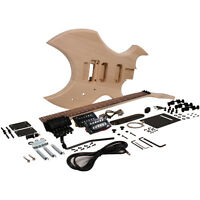 Premium Warlock Style Diy Electric Guitar Kit - Unfinished Luthier Project Kit on Sale