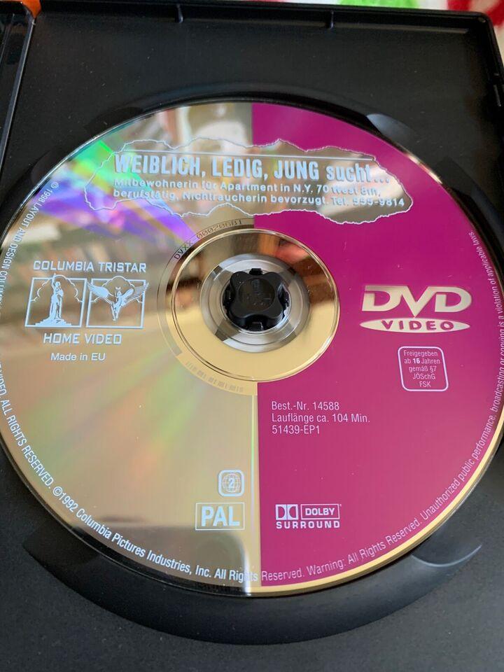 Enlig pige søger..., instruktør Barbet Schroeder, DVD