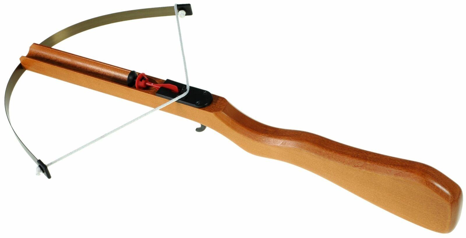 Armbrust aus Holz Kinder Groß Zielscheibe 3 Sicherheitspfeile Gapola Neu