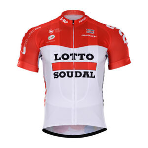 NEW 2018 LOTTO SOUDAL JERSEY HOBBY CYCLING TOUR DE FRANCE PRO ... 47325d7a2