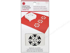 Martha stewart punch all over the page skylands for Snowflake template martha stewart