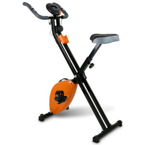 Cyclette-Pieghevole-Magnetica-Con-Display-LCD-Fitness-Palestra-Bicicletta-Sport