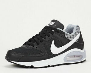 stable quality official the sale of shoes Details zu NIKE AIR MAX COMMAND SCHWARZ WEIß GRAU DAMENSCHUHE FREIZEIT  GR.35,5-GR.36