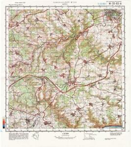 Topographic Map Germany.Russian Soviet Military Topographic Maps Mayen Germany 1 50 000