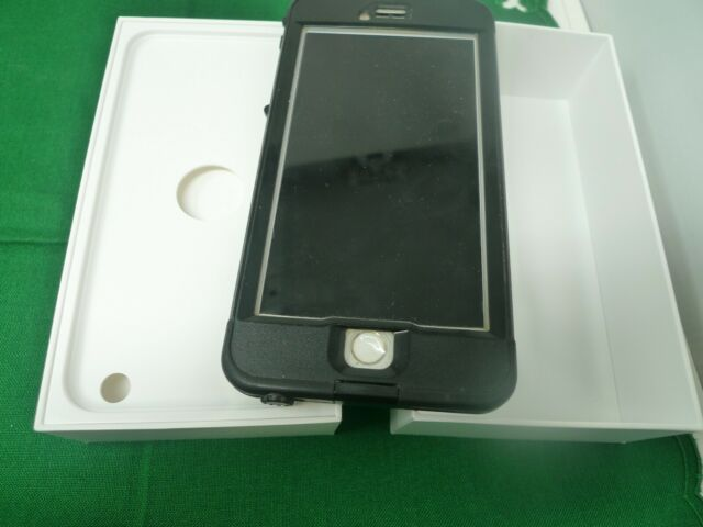 iPhone 6 Plus GOLD 16GB Phone Box LifeProof Black Unlocked ATT RESET Smart
