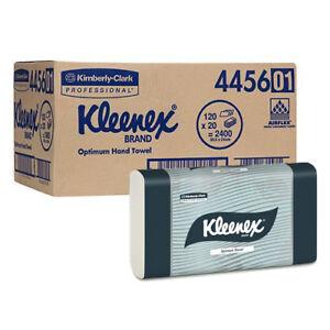 KLEENEX 4456 Optimum Hand Towel 2400 Towels (20 packs)