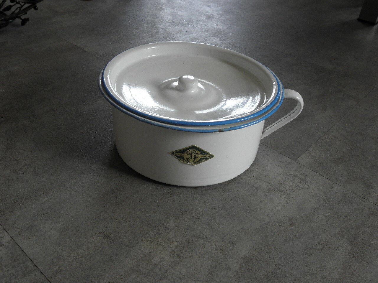 Caja Retro Vintage Esmalte Inodoro país Diseño de Bebé WC Jar Pot Cámara Antiguo