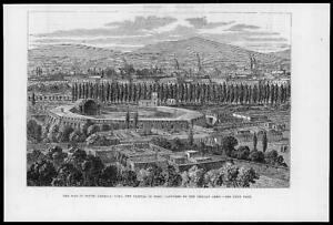 1881-Antique-Print-SOUTH-AMERICA-PERU-Lima-captured-Chilean-Army-War-30