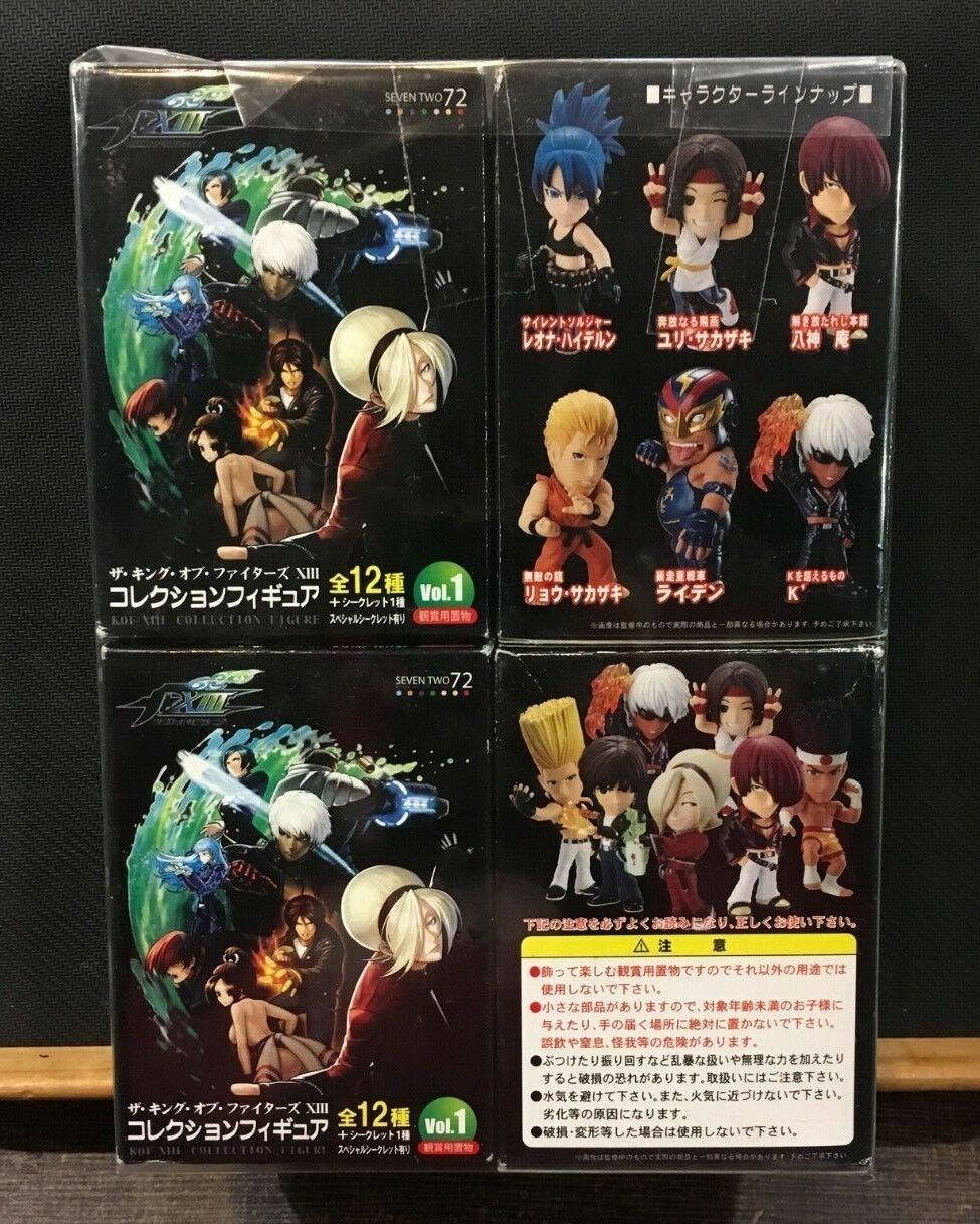 The king of fighters XIII Collection figure x4 BLINDBOX VOL.1 Seven Two 72