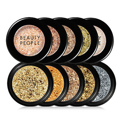 [BEAUTY PEOPLE] Flash Fix Pearl Pigment Pact WITH FREE GIFT / KOREA MADE