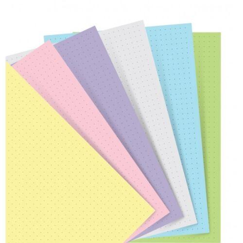 Filofax 122018 Notebook Pocket Nachfüllung Pastel dotted