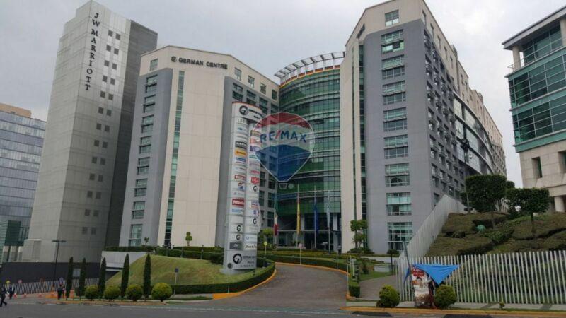 Renta Oficina Comercial German Center Av Santa Fe