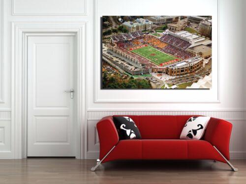 Boston College Football Stadium Canvas Print  36 x 24 BC Boston College Eagles
