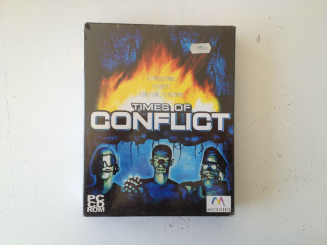 Times of Conflict STR/RTS stratégie PC FR Big Box NEUF/NEW/Blister