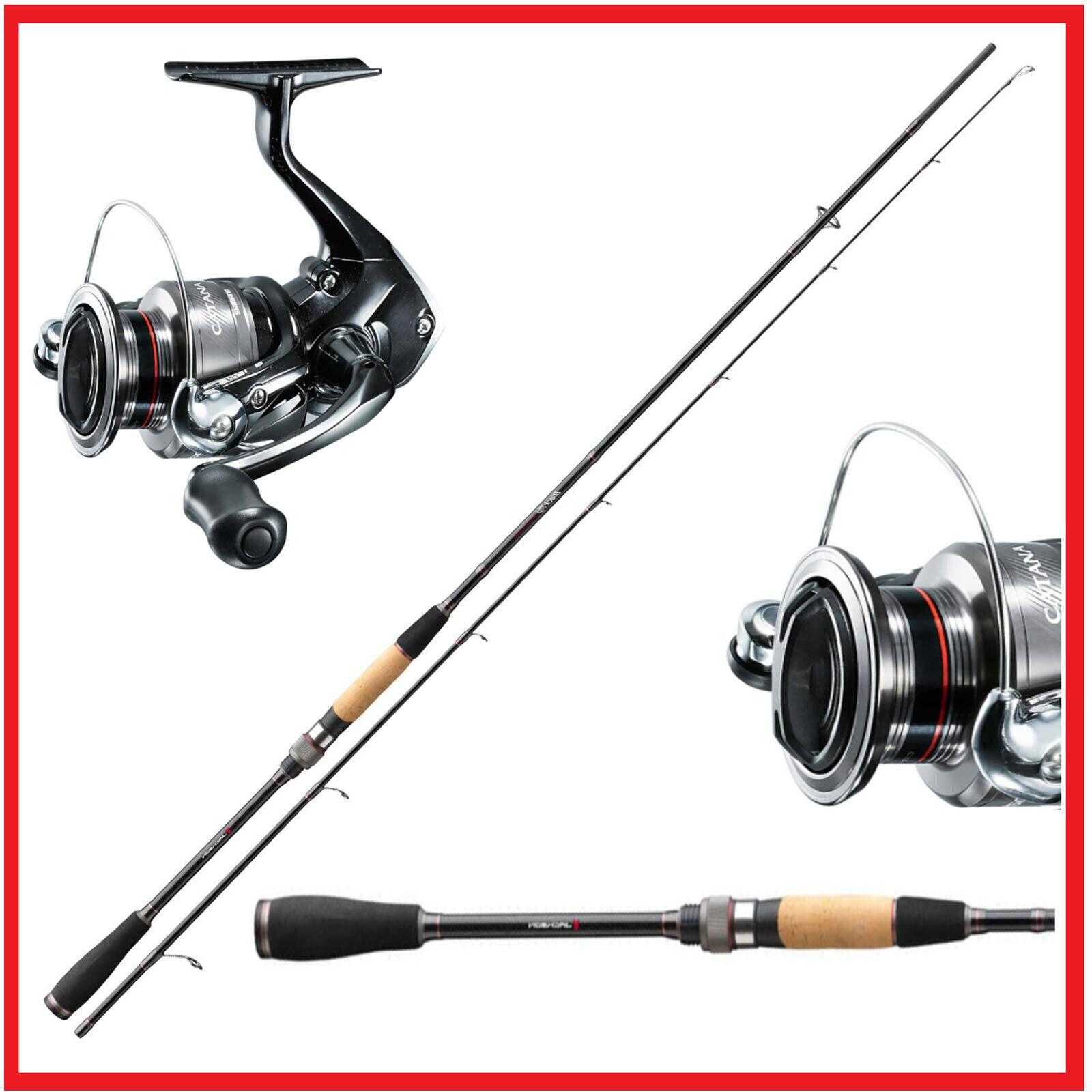 Prossoatore Completo Set Pesca Combinato  Jackson Spinning asta 2,70m & Shiuomoo