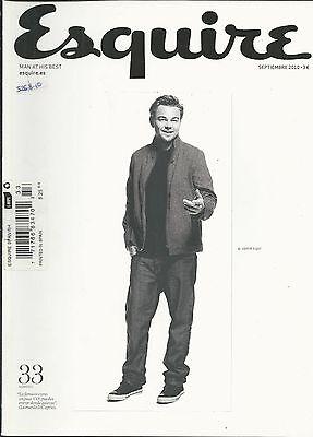 Esquire magazine Leonardo DiCaprio Blake Lively Phil Collins Louis Vuitton boat