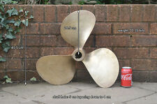 Boat propeller 21 x (17) 16 LH boat prop brass propeller  FREE POSTAGE