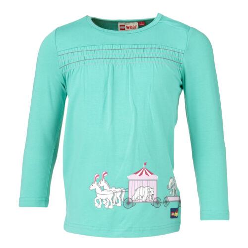 86-104 Style Tina 707 VERDE LEGO Wear Duplo Tunica Manica Lunga Shirt circo tg