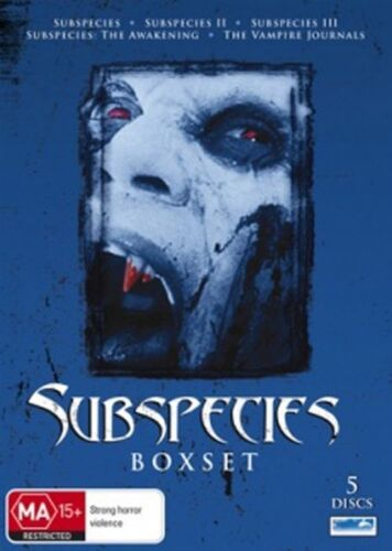 1 of 1 - Subspecies (DVD, 2010, 5-Disc Set)