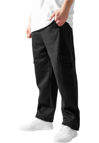 Urban Classics Cargo Sweatpants Joggers Fabric Trackies Side Pockets