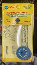 Genuine Toto Split Seatek Bx Cutter Replacement Wheel Blades Pack Of 5 B 102