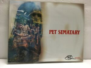 Pet-Sematary-8x10-Bam-Box-Horror-Art-Print-Signed-by-artist-DED-2000