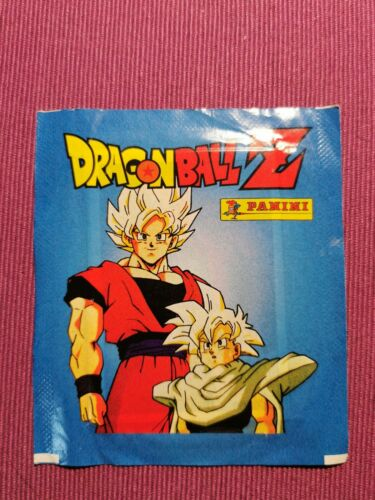 1 packet sticker DRAGON BALL Z PANINI SOBRE DE CROMOS DRAGONBALL Z