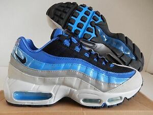 Details about NIKE AIR MAX 95 VARSITY ROYAL BLUE ITALY BLUE MET SILVER SZ 8 [609048 404]