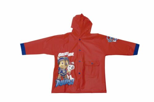 Nickelodeon® Paw Patrol Boys PVC Raincoats Selection of colours and sizes