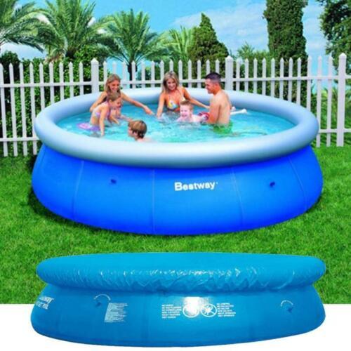 Bestway Fast Family Quick Up Pool Planschbecken Swimmingpool 244cm Abdeckplane