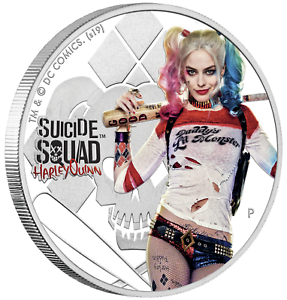 2019-SUICIDE-SQUAD-Harley-Quinn-1-1oz-9999-SILVER-PROOF-COLORIZED-COIN