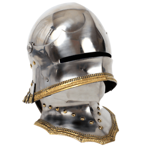 Gothic Sallet Helmet Sallet with a movable visor 15th
