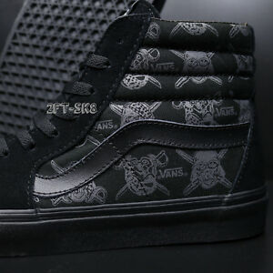 74e90d35f3 VANS SK8-HI STAR WARS DARK SIDE DARTH VADER STORM MEN S SKATE SHOES ...