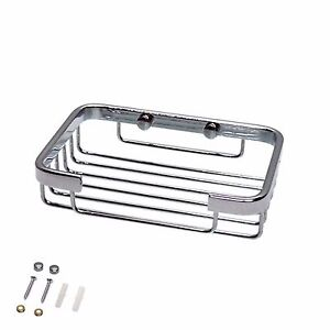 New Small Stainless Steel Wire Bath Caddy Wall Mounted