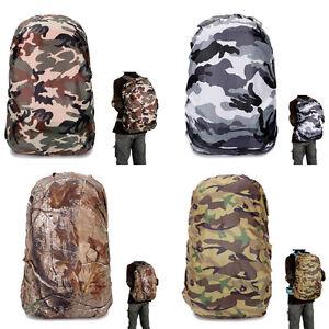 Reflective Waterproof Backpack Cover Bag Dust Rain Rucksack Camping Hiking Case